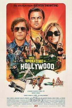Once Upon a Time in Hollywood Regular Original Movie Poster Double Sided 27x40