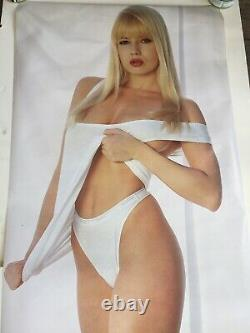 Original 1990 TRACI LORDS Vintage Poster NOT A REPRINT 23x62 Lifesize NM-Mint