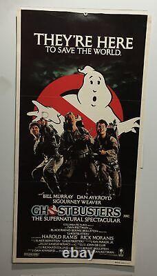 Original Day Bill Movie Poster Ghostbusters Bill Murray Dan Aykroyd Sigourn