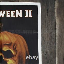 Original Halloween II Movie Poster Vintage FREE Shipping