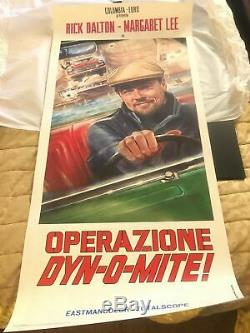 Original Move Poster Once Upon A Time In Hollywood Rick Dalton Dynomite