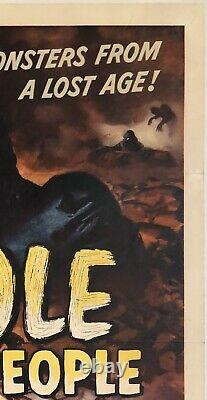 Original Poster MOLE PEOPLE One Sheet Sci-Fi Monster Horror Movie 27 x 41'56 OL