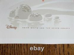 Original Snow White George Caltsoudas Disney Print Poster AP Mondo