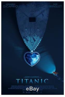 Original Titanic Laurent Durieux Print Poster Mondo x/325 SOLD OUT
