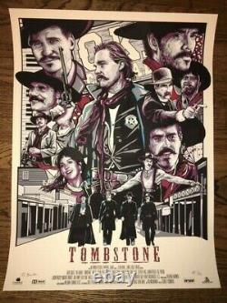 Original Tombstone Robert Bruno Mondo Print Poster AP x/15