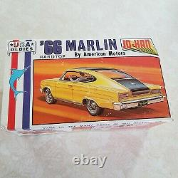 Original Vintage'66 Marlin Hardtop Jo-han Model Kit Opened In Original Box