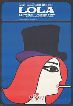 Original Vintage Poster Film Movie Lola Polish