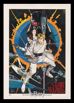 PANICSALE BELOW COST! HOWARD CHAYKIN 1976 STAR WARS Movie Poster FIRESALE