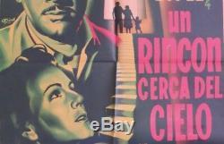 PEDRO INFANTE Un Rincon Cerca del Cielo MEXICAN MOVIE POSTER 1952 Marga Lopez
