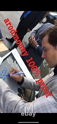 PSA DNA Henry Cavill Signed Superman Mondo Man Of Steel Print EXACT PROOF