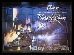PURPLE RAIN CineMasterpieces FRENCH HUGE 8 PANEL ORIGINAL MOVIE POSTER PRINCE