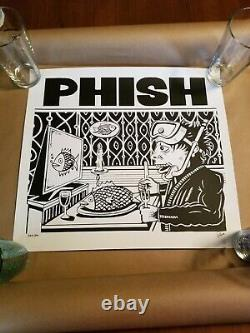 Phish Jim Pollock Dinner And A Movie DaaM Limited Edition Poster Signed #/800