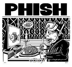 Phish Jim Pollock Dinner And A Movie Limited Edition Poster Signed #/800 Junta