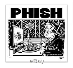Phish Pollock Dinner And A Movie Limited Edition Poster Signed #/800 Jim Pollock