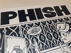 Phish Poster Dinner And A Movie Jim Pollock Signed Silkscreen X/800 DryGoods
