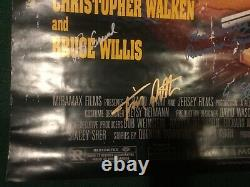 Pulp Fiction original poster signed x17 Tarantino Travolta