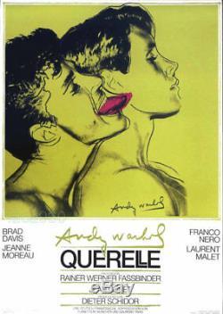 Querelle Green Andy WARHOL Original Film Poster Print Art 39 x 27