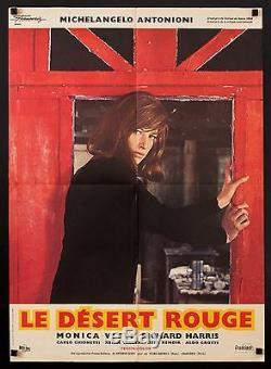 RED DESERT'64 French poster DESERTO ROSSO Antonioni Monica Vitti filmartgallery