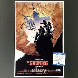 RICHARD DONNER Autograph GOONIES Signed 11x17 Movie Poster Photo BAS Beckett COA
