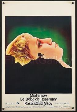 ROSEMARY'S BABY 14x21 unfolded poster Mia Farrow Roman Polanski filmartgallery