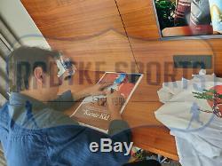Ralph Macchio & William Zabka Signed Karate Kid 11x17 Fight Poster Daniel