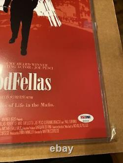 Ray Liotta Signed Autographed GoodFellas 11x17 Movie Poster PSA COA Henry Hill