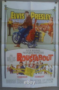 Roustabout 1964 Original Elvis Presley Near Mint One-sheet Unused C9