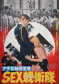 SALON KITTY Japanese B2 movie poster TINTO BRASS NAZISPLOITATION 1977 RARE