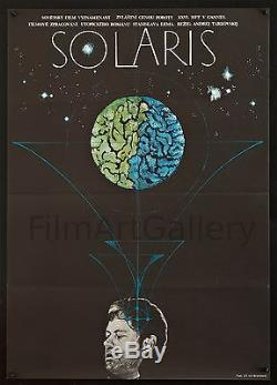 SOLARIS 1975 Czech 23x33 poster Andrei Tarkovski Tarkovsky filmartgallery