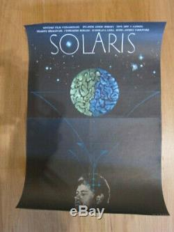 SOLARIS original Czech poster 1975 Andrei Tarkovsky