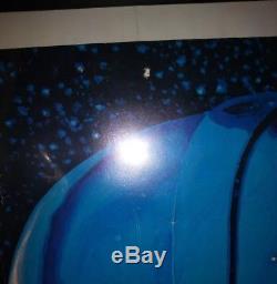 STAR WARS 1977 Original FACTORS ETC Poster HILDEBRANDT BROS. Framed WithSome Wear