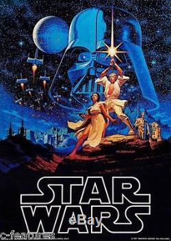 STAR WARS 1977 Original FACTORS ETC Poster HILDEBRANDT BROTHERS Unopened ROLLED