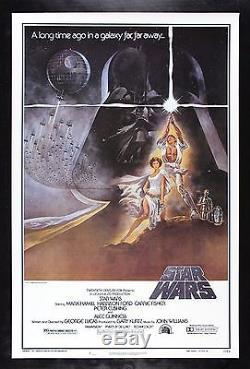 STAR WARS 77/21-0 HAIRY BELT ORIGINAL BOOTLEG MOVIE POSTER CineMasterpieces