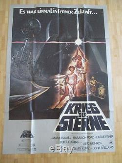 STAR WARS Krieg der Sterne Original Movie Poster Style A 119 x 84 cm DIN A 0