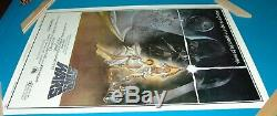 STAR WARS Style A Second Printing Movie Poster Rolled Excellent Condition
