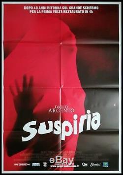SUSPIRIA Original Movie Poster 39x55 2Sh Italian Horror DARIO ARGENTO