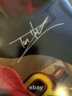 Spider-Man Homecoming Theatrical Poster signed by Keaton & Holland with JSA