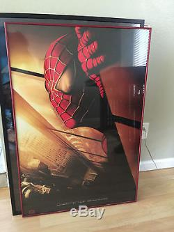 Spiderman Original Teaser Double Sided 27x40 inch movie poster Recalled 2002
