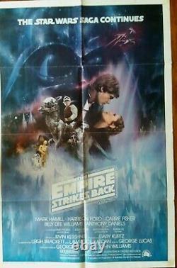 Star Wars Empire Strikes Back (1980) original US one-sheet poster