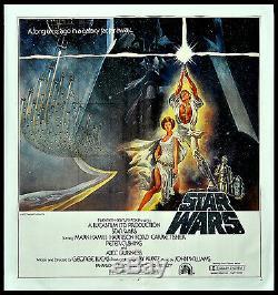 Star Wars Ep. IV A New Hope George Lucas Harrison Ford 1977 6-sheet Billboard