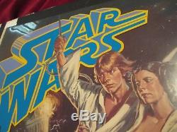 Star Wars Original 1976 Movie Poster Proof RARE George Lucas