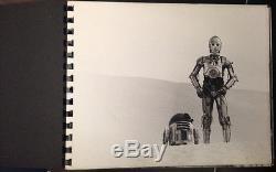 Star Wars / Original Presentation Book Numerous Contact Enlargements