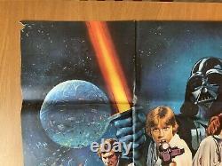 Star Wars Original Vintage Movie Quad UK Poster 1978