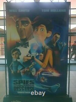 Star Wars Rise of Skywalker/Spies in Disguise 5'x8' Movie Theater Vinyl Banner