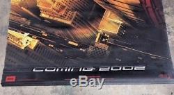 Super Rare 2001 Recalled Original Spiderman Large Movie Banner Nice