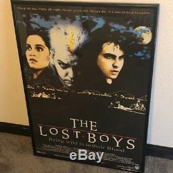 THE LOST BOYS 1987 POSTER original warner bros wb vampire movie frame wild blood