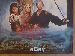 THE PRINCESS BRIDE (1987) original UK quad film/movie poster, adventure