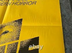 THE SHINING 1980 ORIG 1 SHEET MOVIE POSTER 27x41 (F-) NICHOLSON/DUVALL HORROR