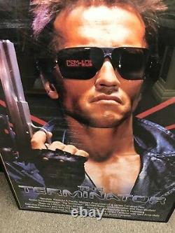THE TERMINATOR (1984) ORIGINAL MOVIE POSTER Arnold Schwarzenegger