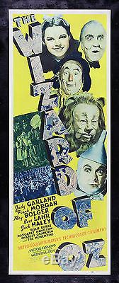 THE WIZARD OF OZ CineMasterpieces ORIGINAL MOVIE POSTER JUDY GARLAND 1939